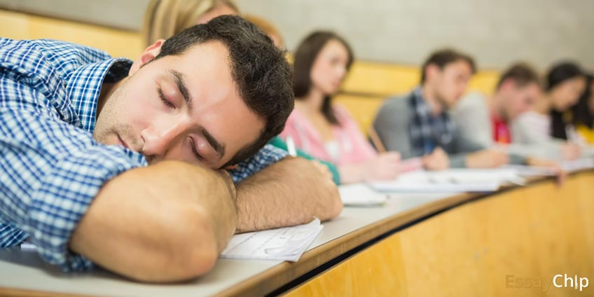 Sleeping on Lecture