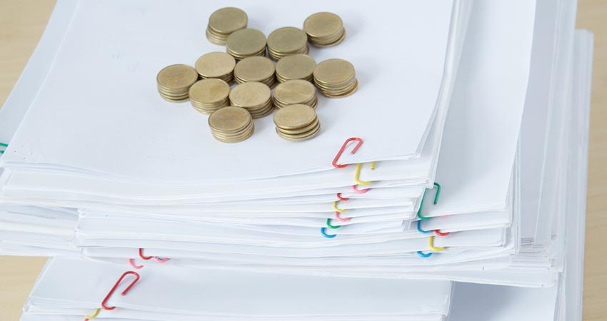 Coins on Paper